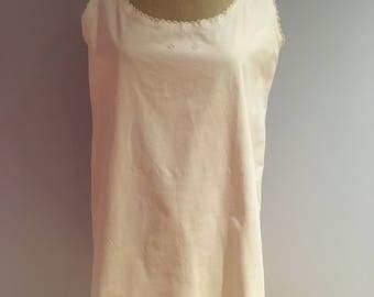 French Organic Tunic Dress 1920's
