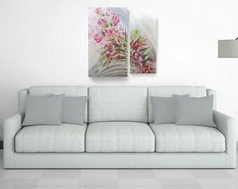 Flowers - Acrylic on canvas