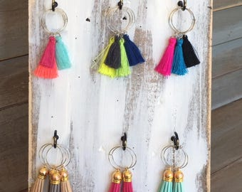 Tassel Wine Charms - gifts - wine - hostess gifts - shower gifts - wedding gifts - wedding favor - thank you gift