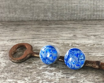 Hand Painted Polymer Clay Stud Earrings