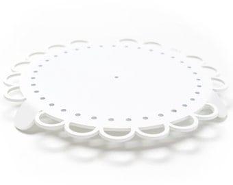 CPLR WHITE / cakeplatter / white / aluminium