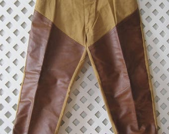 Mens VINTAGE Pants 34 x 28 CHIEF Water Repellent Hiking Work Duck Hunting USA MP231