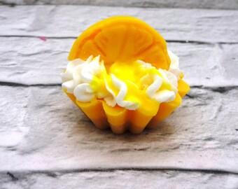 Lemon Meringue Pie Wax Melt Tart