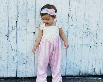 Baby girl romper or dress, lace romper, birthday romper