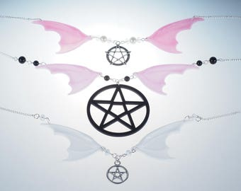 Batwings necklaces