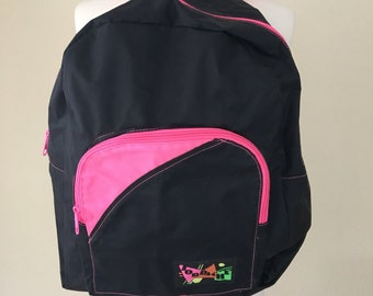 Vintage  neon Jordache 80's backpack