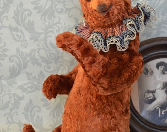 Bear Osborne, teddy bear, OOAK, artist bear