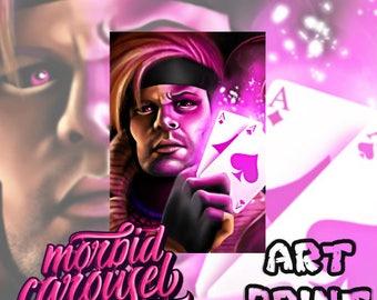 Gambit - Marvel X-Men A4 Giclee Art Print