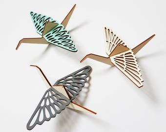 ALIZI.MOBI - SB - decorative wooden birds - small