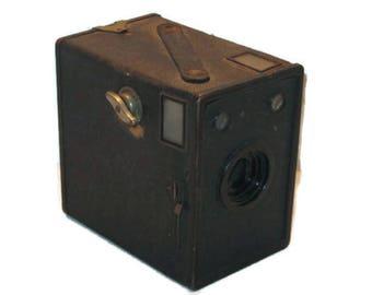 Vintage AGFA Ansco Box Camera, Vintage Camera Box, Collectible, Home Decor, Vintage Photography, Shelf Decor, Photo Prop, Vintage Camera Box