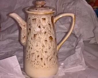 Brown and Tan Coffee pot