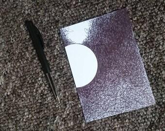 Postcard | handdrawn, zen, gift, card, drawing, art, unique, minimal art, pendrawing