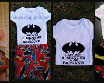 DIAPER COVER/BLOOMER Sets/Batman/Batcave/Sports/Monogram/Star wars/Newborn-18 month/Smash cake sets/Photo op/Shower gift/Baby gift/