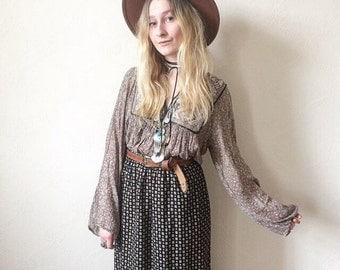 Nutshell Vintage Boho Maxi Skirt