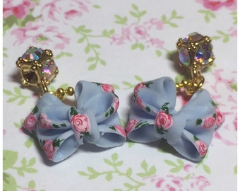 Vintage ribbons with dangle