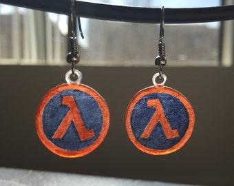 Half-Life Earrings
