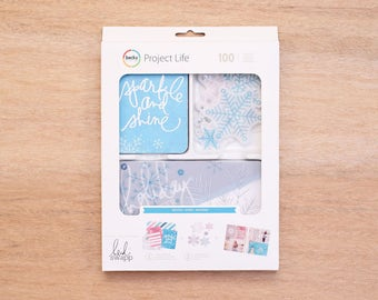 Winter - Project Life - Heidi Swapp - Becky Higgins - 100 Pieces
