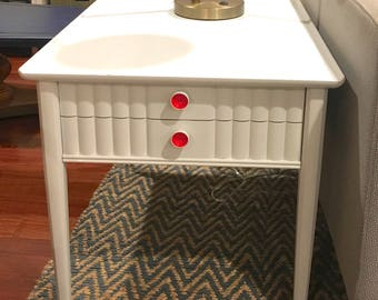 Mid Century End / Side Table with Drawer
