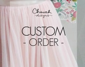 Leslie's Order : Tulle Skirts