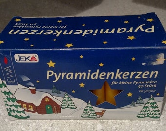 Pyramidkerzen candle replacements