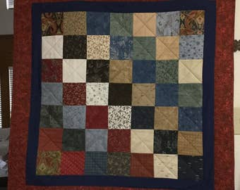 Town Square Quilted Lap Quilt