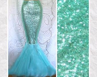 Aqua Mermaid Tail - Sexy High Waist - Adult Halloween Costume
