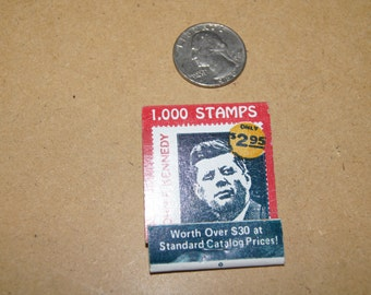 Vintage 1970's - International Hotel and Restaurant Matchbook JFK 1,000 stamps