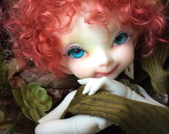ON SALE NOW! - RealFee wig - Auburn curly -short style - WeeDollyWears