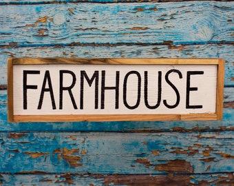 Farmhouse sign Rustic farmhouse sign Rustic home decor Farmhouse decor Farmhouse wall decor Barn wood signs Rustic kitchen signs Wood signs