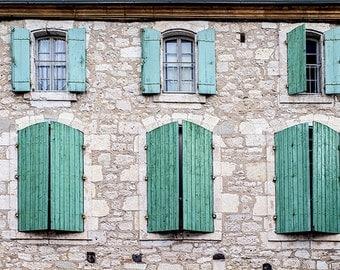 Window shutters etsy - European exterior window shutters ...