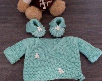 Shirt and baby booties