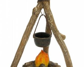 Fairy Garden  - Campfire Cookout - Miniature