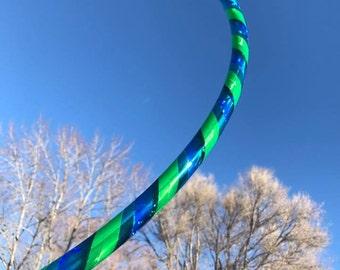 ocean waves taped hoop