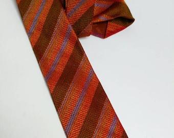 Vintage silk tie Christian Dior 50s