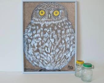 Blade owl, exclusive brand Marta Comas Illustration