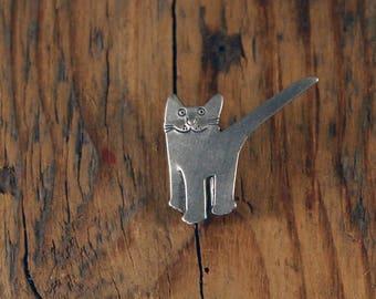 Tick Cat Pin