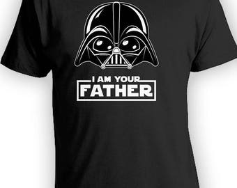 I Am Your Father Dark Funny Cartoon, Matching Father Son Shirts,Christmas Gifts, Fathers Day Gift, Matching Family Shirts,Bodysuit CT-838