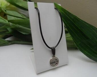 Diabetic Boys Necklace, Childs necklace, kids necklace, Boys necklace,boys medical necklace, medical alert pendants