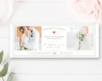 Facebook Cover Template for Photographers, Photo Marketing Templates, Facebook Timeline Design, INSTANT DOWNLOAD!