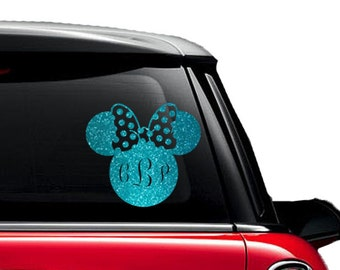 Minnie Mouse Decal Etsy - Custom design car decals free