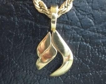 Precious Metal L'Chayim Charm Pendant