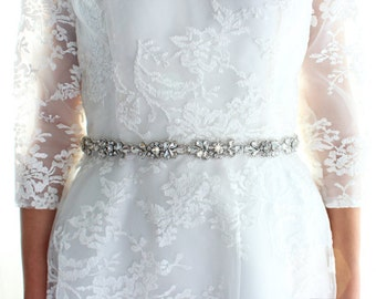 Bridal belt Bridal sash Wedding dress belt Crystal Rhinestones sash belt Bridesmaid belt  Wedding Belt Prom Belt Wedding accessory