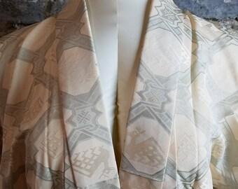 Vintage Kimono, Robe, Dressing Gown, Deer Design, Kimono, Cover up, Lingerie