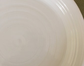 Set/8 Franciscan Reflections White Dinner Plates