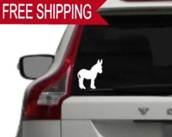 Donkey Window Decals