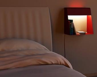 She.en - wall lamp, shelf, bedside (Caoscreo)