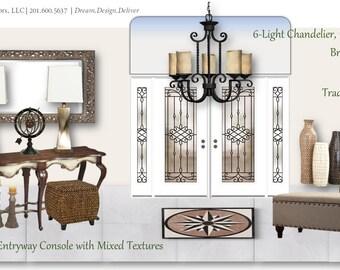 Foyer Design | Entryway Decor | Virtual Design Board | E-Design
