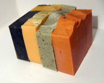 Soap Set of 5 - Your Choice - Natural Soap Set - Cold Process Soap Set