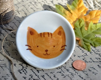 Ginger Cat Mini Dish