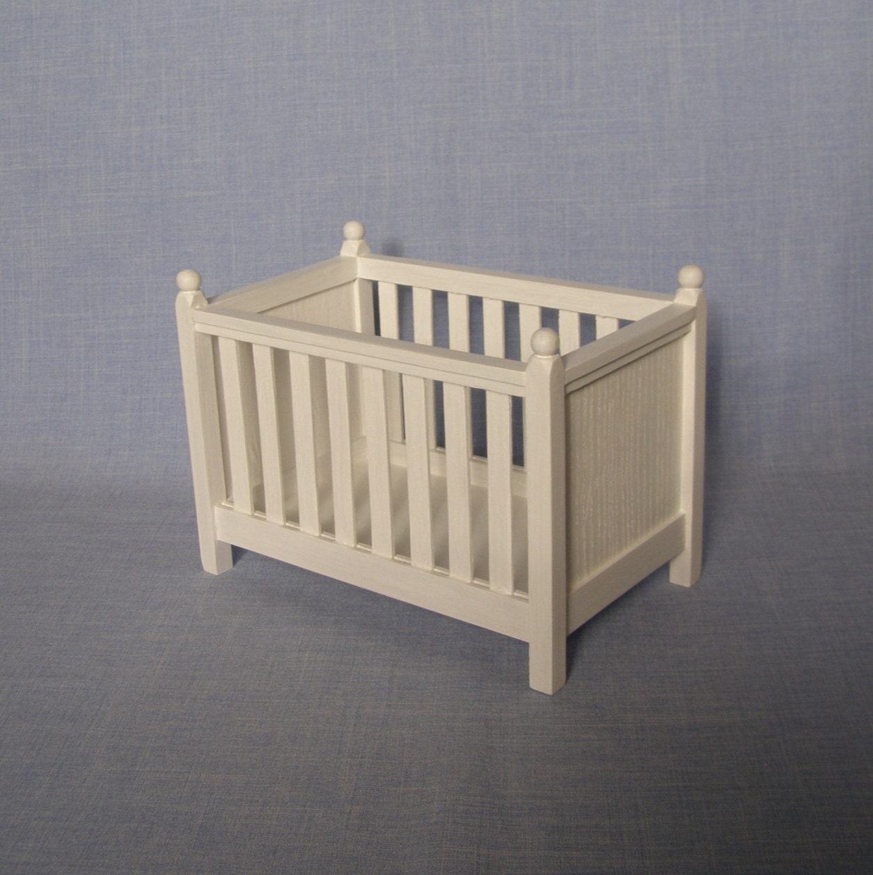 Miniature Cradle For Doll Crib 1 6 Scale Baby Bed Barbie